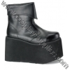 MONSTER-02 Black Faux Leather